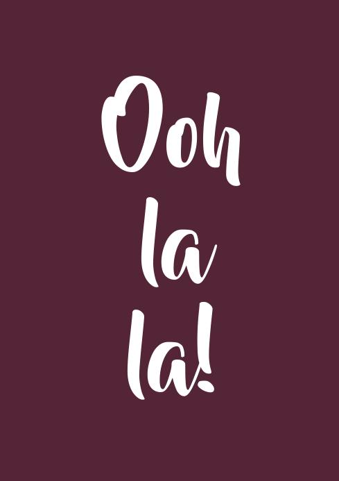Ooh la la!