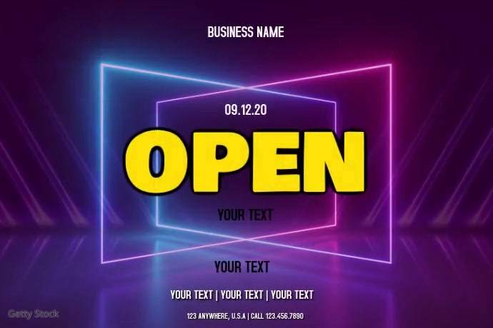 OPEN Tatak template