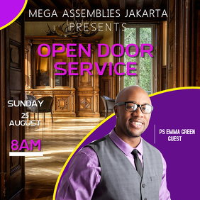 Open Door Service Template