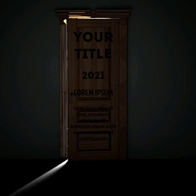 OPEN DOOR VIDEO AD Square (1:1) template