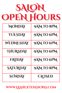 Open Hours Poster Template