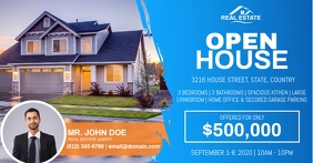 Open House Ad Template
