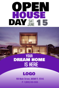 Customizable Design Templates for Open House | PosterMyWall