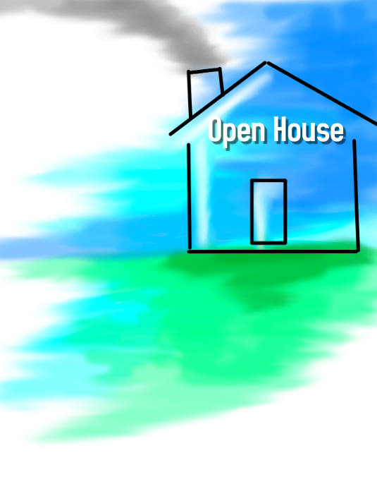 Open House Flyer Template Postermywall