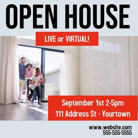 OPEN HOUSE Instagram ad