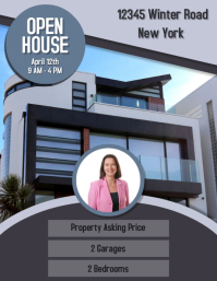 Open House Property Business Flyer