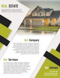 Real Estate Flyer Template Fully Editable File