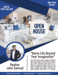 Open House Property Business Real Estate Flyer and Poster