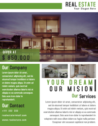 Property Flyer Template Design