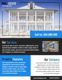 Open House Propety Flyer Real Estate Poster