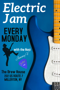 Open-Mic - Electric Jam poster