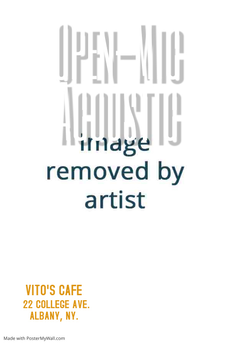 Open Mic Poster Template Postermywall