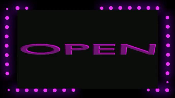 Open Mic Night Social Media Video Template Digitalanzeige (16:9)