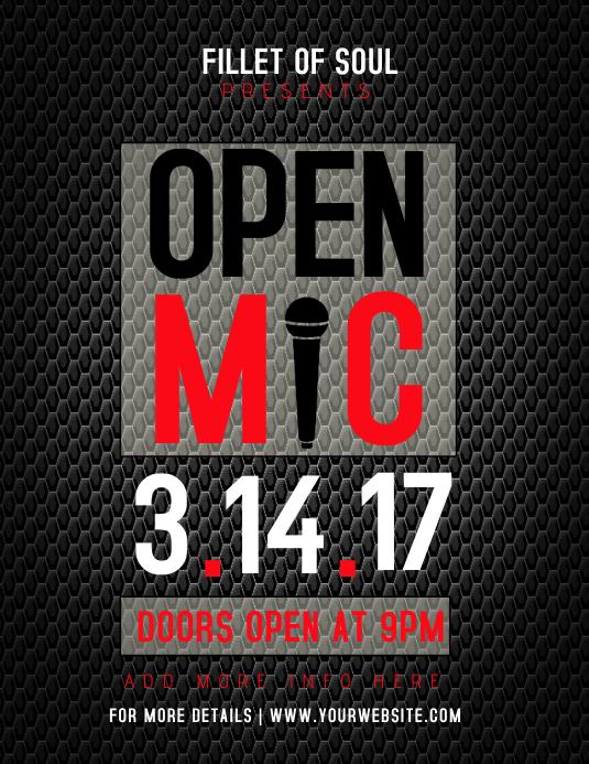 Open Mic Flyer