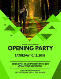 Opening Party Flyer Template