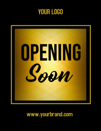 Opening soon, coming soon, launching soon