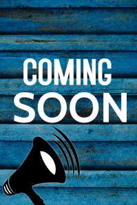 Opening Soon Poster template