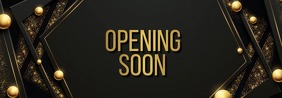 opening soon Banner de Tumblr template