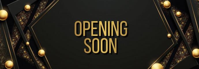 opening soon Tumblr 横幅 template