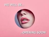 OPENING SOON PINK