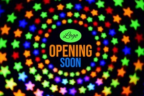 Opening Soon Template Poster