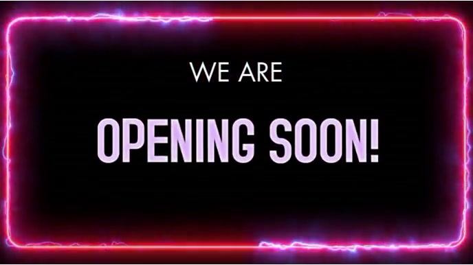 OPENING SOON VERSION 2 Digitale Vertoning (16:9) template