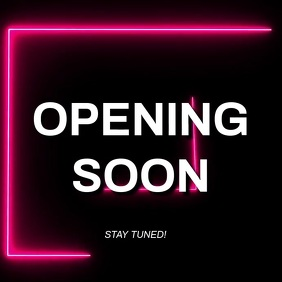 Opening soon video ad Template