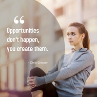 Opportunities Instagram Plasing template