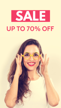 optic optique and glasses new collection sale Instagram Story template