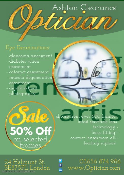 optician flyer