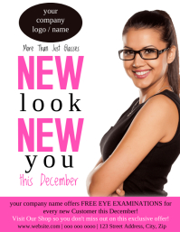 Opticians Flyer Template