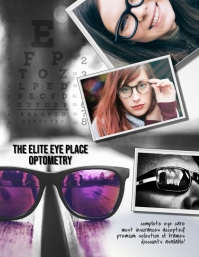 Optometrist Vision Center Flyer Template