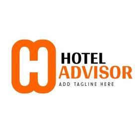 orange and black h alphanumeric logo