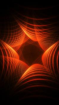 Orange and Black TikTok Background