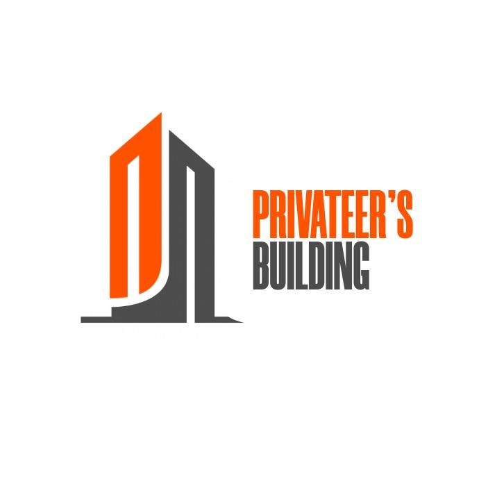 orange and grey colors design template Logo