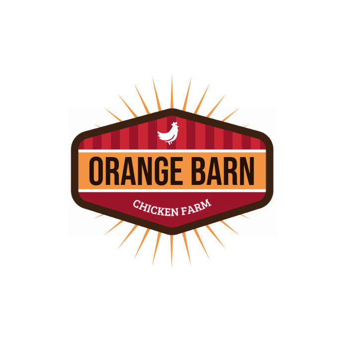 Orange Barn Chicken Restaurant Logo