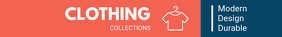 Orange Clothing Retailer Etsy Banner