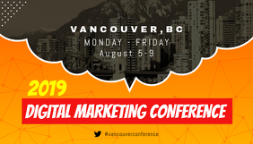 Orange Conference Guide Blog Header Blogkop template