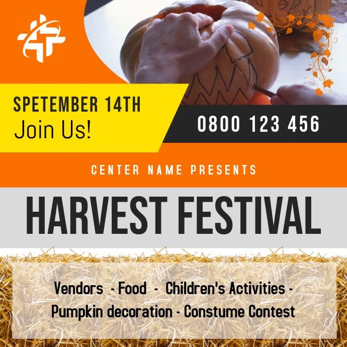 Orange Harvest Festival Square Video