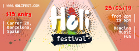 Orange Holi Festival Banners