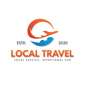 Orange Local Travel Logo template
