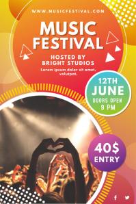 Orange Music Festival Poster