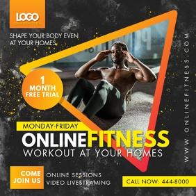 Orange Online Fitness Classes Live Stream Ad