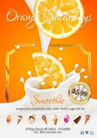 Orange Saturdays Poster