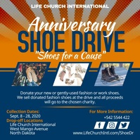 Orange Shoe Drive Charity Instagram Video Tem template