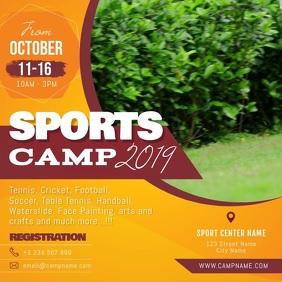 Orange Sports Camp Square Video