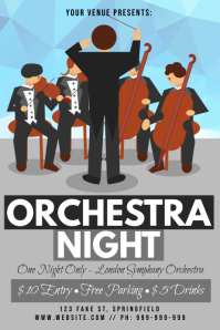 Orchestra Night Poster