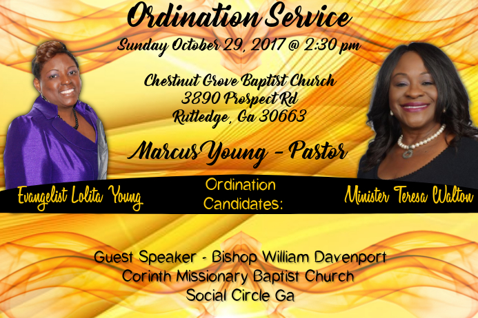 Ordination Service