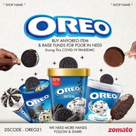 Oreo Day Fundraise 2021 Template Instagram na Post
