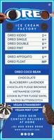 Oreo Ice Cream Menu 2021 Template Halfbladsy Brief